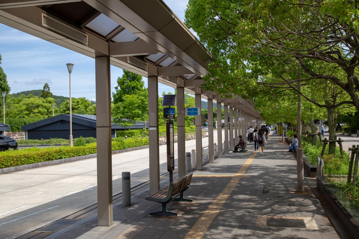 国際会館 バス乗り場2