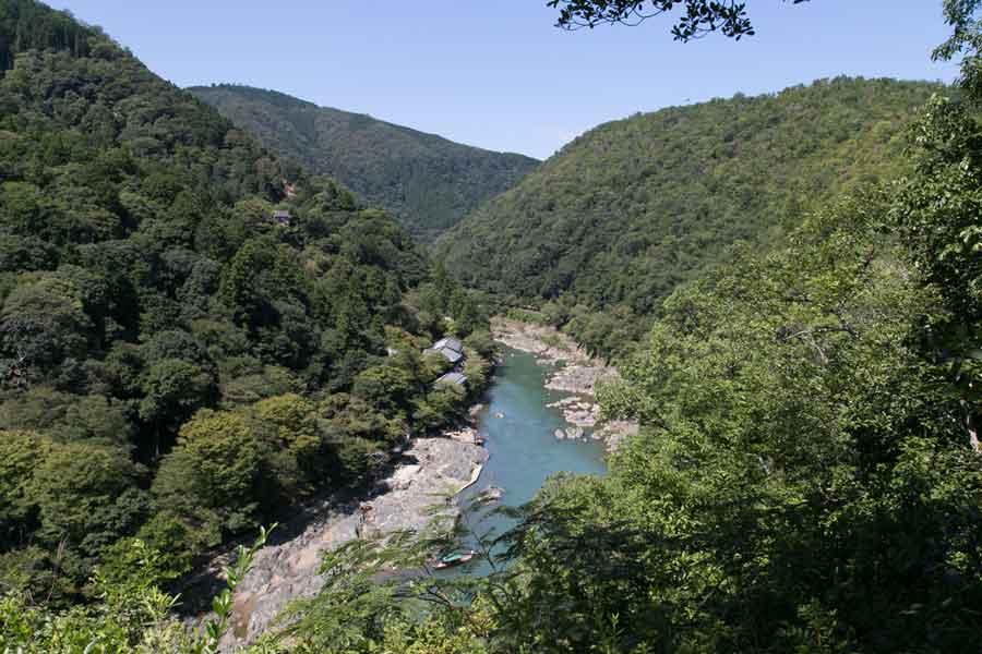 嵐山公園展望台